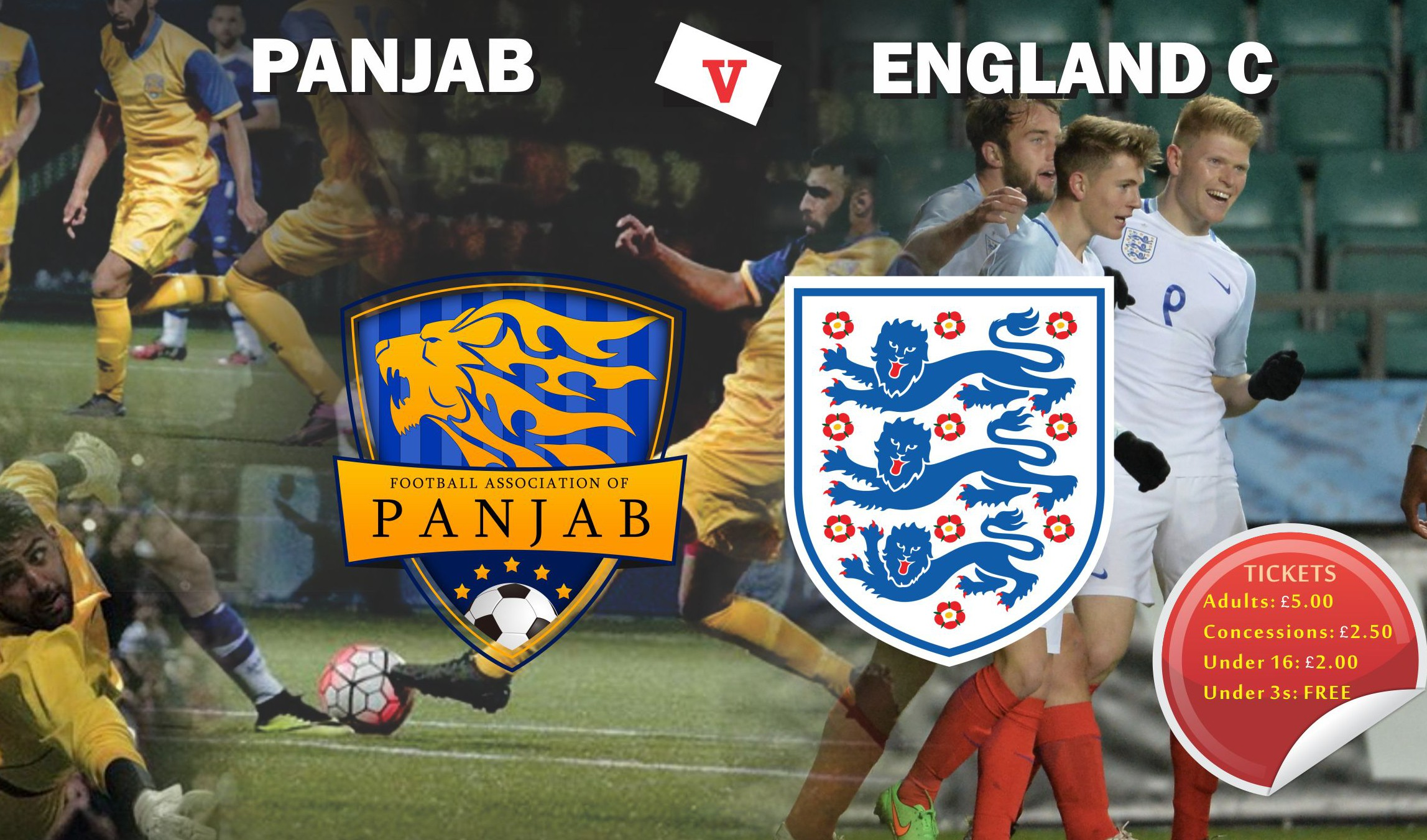 PANJAB TO PLAY ENGLAND C
