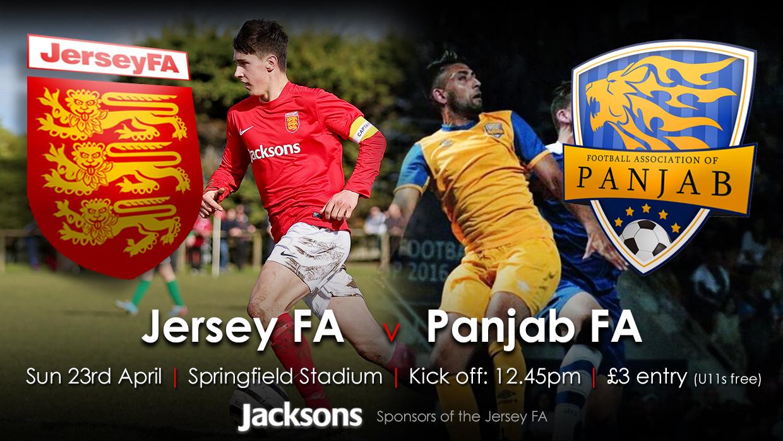 Jersey FA v Panjab FA Team Lineups