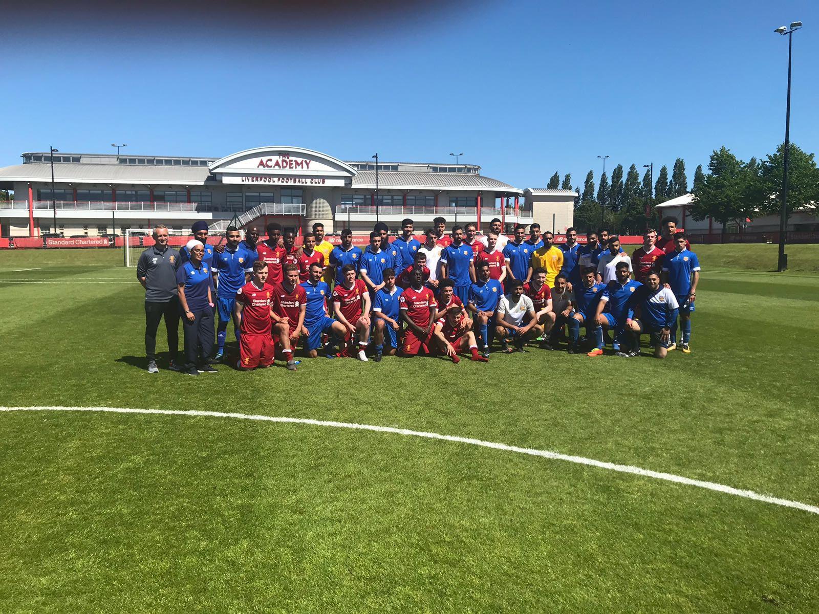 MATCH REPORT: Liverpool U23's 4-1 Panjab FA