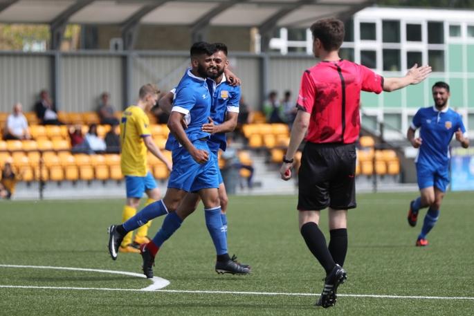Amarvir Sandhu Puts Panjab FA 1-0 ahead