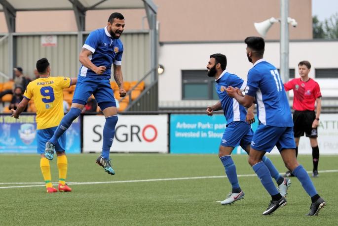 Kamaljit Singh scores a quick fire double